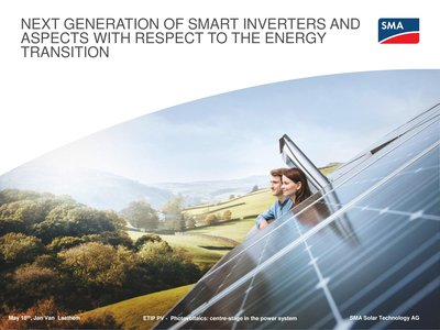 An overview of the next generation of smart inverters and aspects with respect to the energy transition