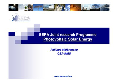 EERA Joint research Programme