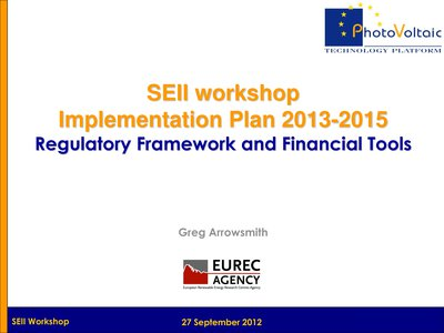 Regulatory Framework and Financial Tools