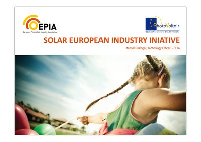 SOLAR EUROPEAN INDUSTRY INIATIVE