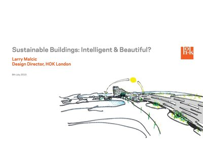 Sustainable Buildings: Intelligent & Beautiful?